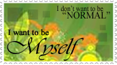 Don't wanna be normal :D by ChikitaWolf