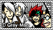 D.Gray-Man Stamp? by ChikitaWolf