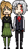PC: Anya and Allen pixels by ChikitaWolf