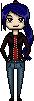 Gift: Yukari pixel by ChikitaWolf