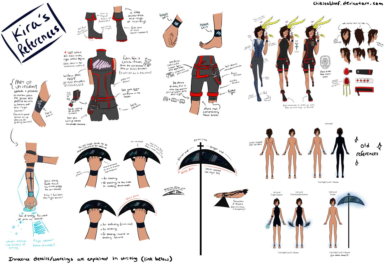 Kira Renee Malcolm: Full Reference by ChikitaWolf on DeviantArt