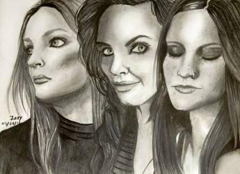Nightwish queens by IzzyKaulitz