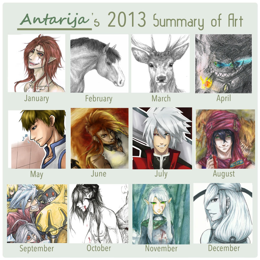 2013 Art Summary by Antarija
