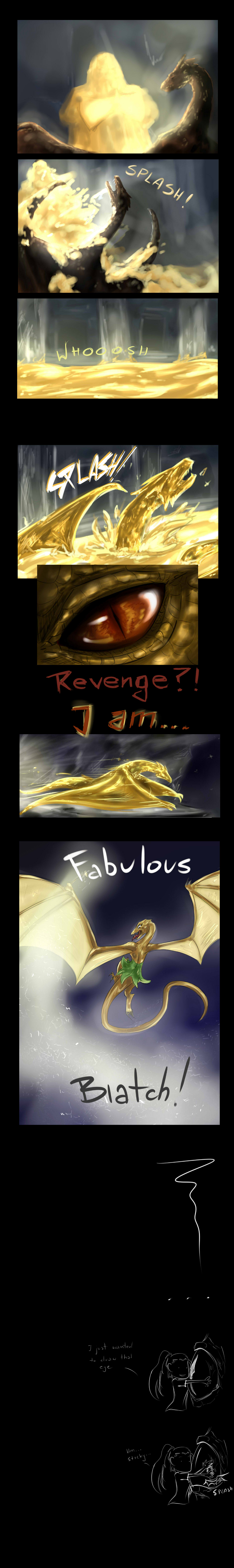 Smaug the Fabulous by Antarija