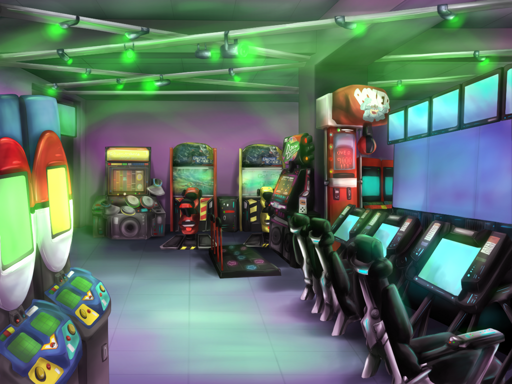 Nuzlocke VN collab - Gamefreak game arcade by Antarija