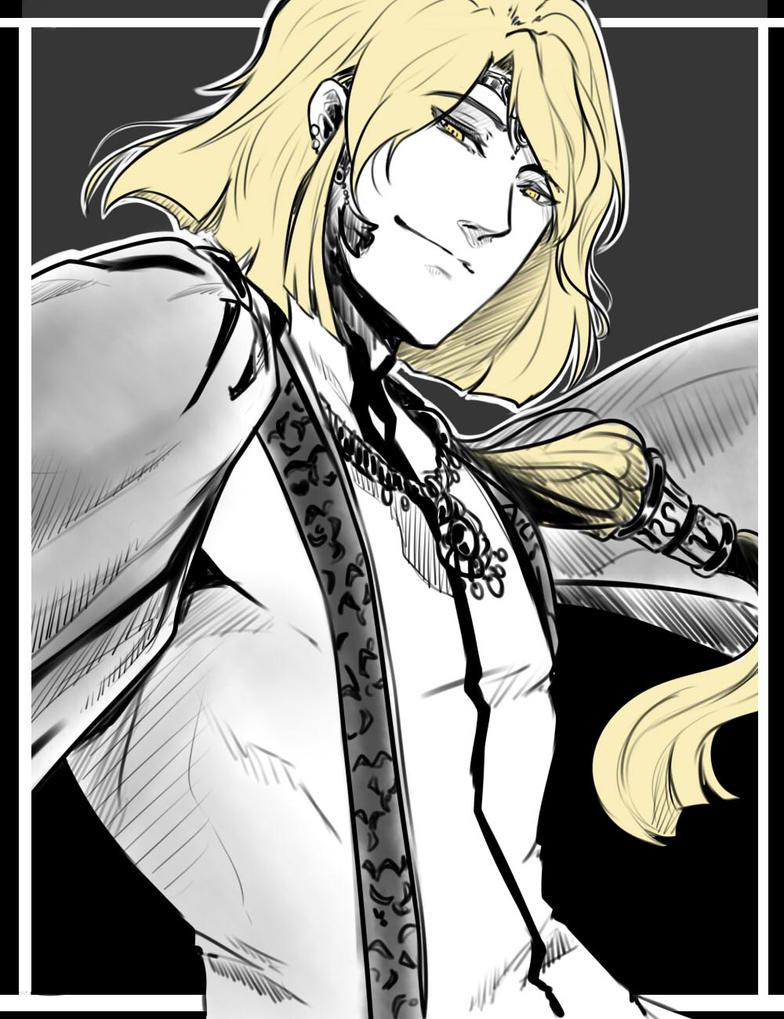 OC-tober #2 - Antagonist by Antarija