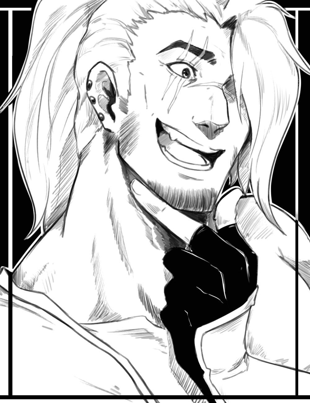 OC -tober #5 - Comic relief character by Antarija