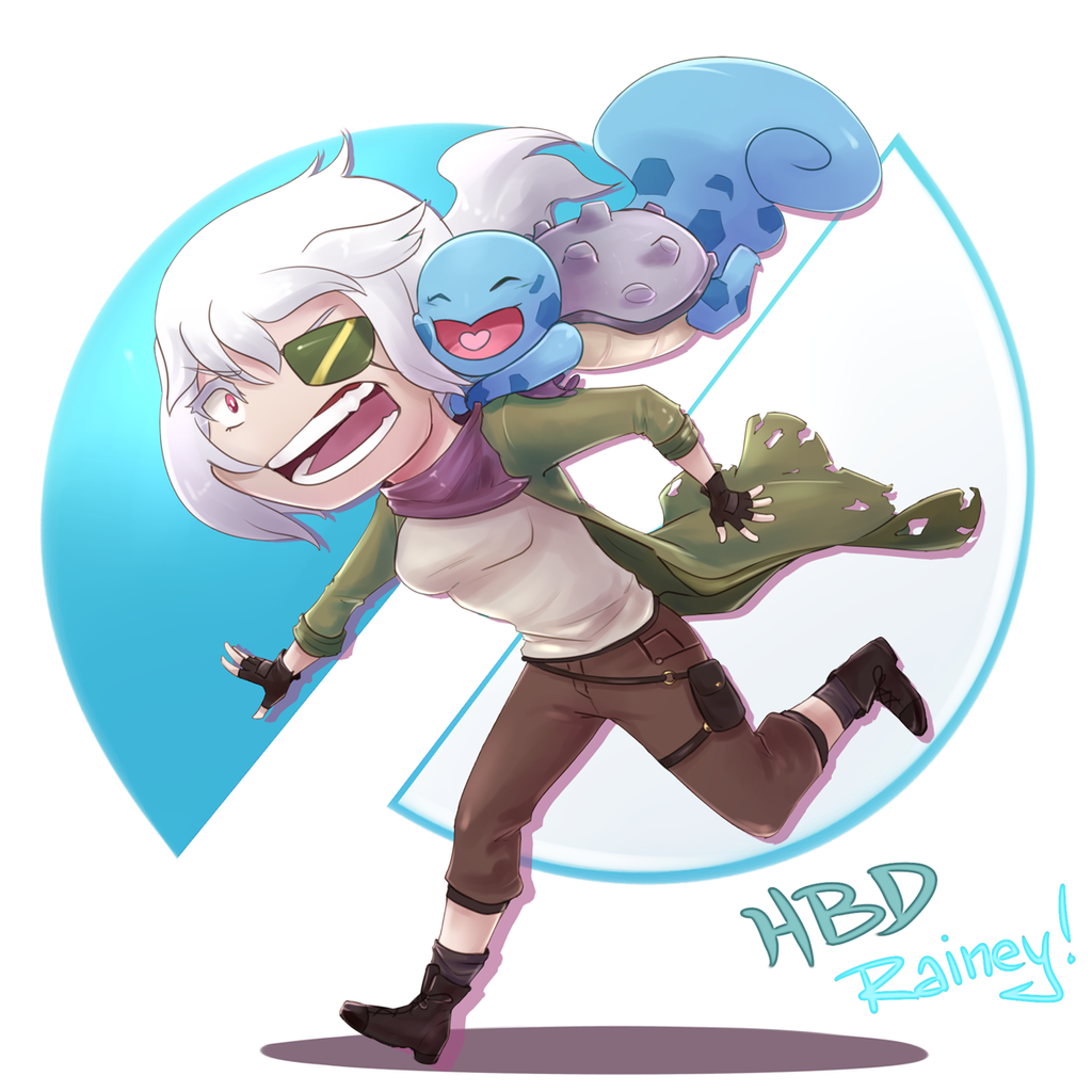 Happy Birthday Rainey! by Antarija
