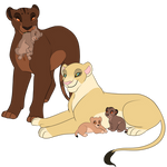 New lioness mothers auction closed