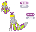 Fakemon Poisok And Toxoc