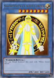 [Fan Made] Yugioh Card  Swordsmen of White Order by rolandwhittingham