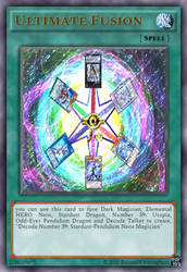 [fan made] yugioh spell Card - Ultimate Fusion by rolandwhittingham