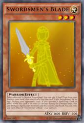 [Fan Made] Yugioh Card Swordsmen's Blade by rolandwhittingham