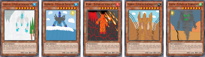 [Fan Made] Yugioh Card The Disaster Titans by rolandwhittingham