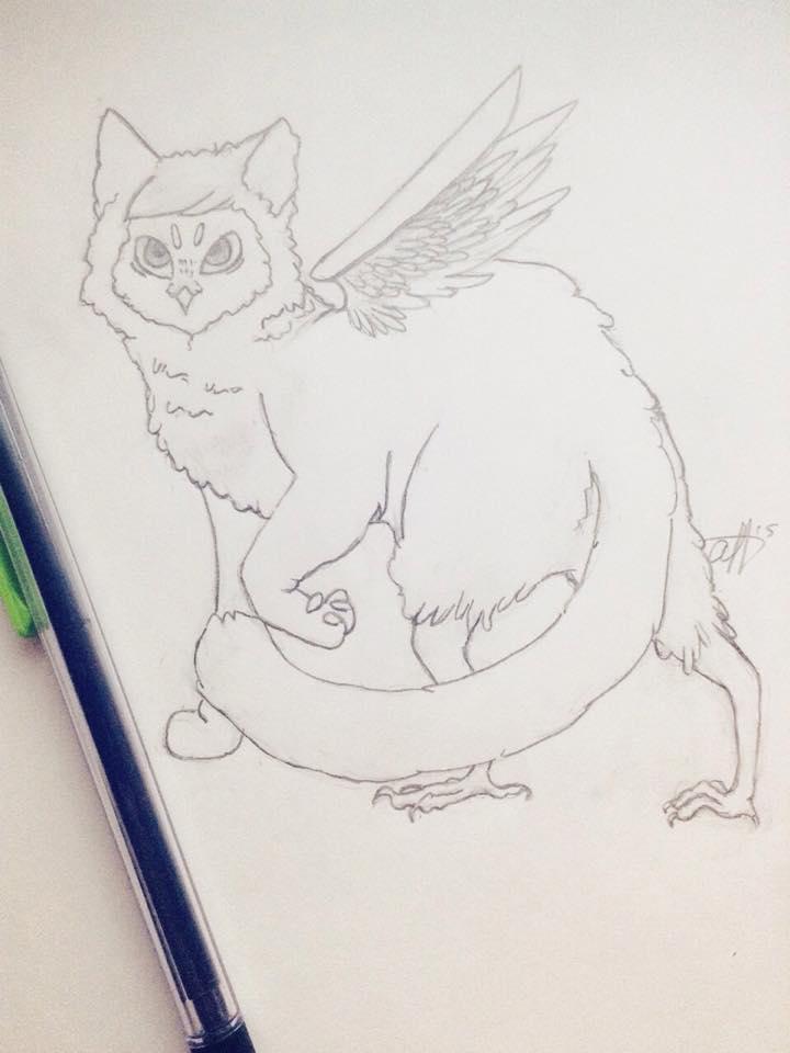 Fursona (owlcat) by AnnaLouis3
