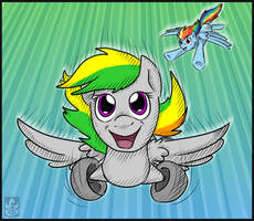 Wheeeee by StormBlaze-Pegasus