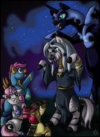 NightMare Night Scare by StormBlaze-Pegasus