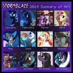 Art Summary 2014