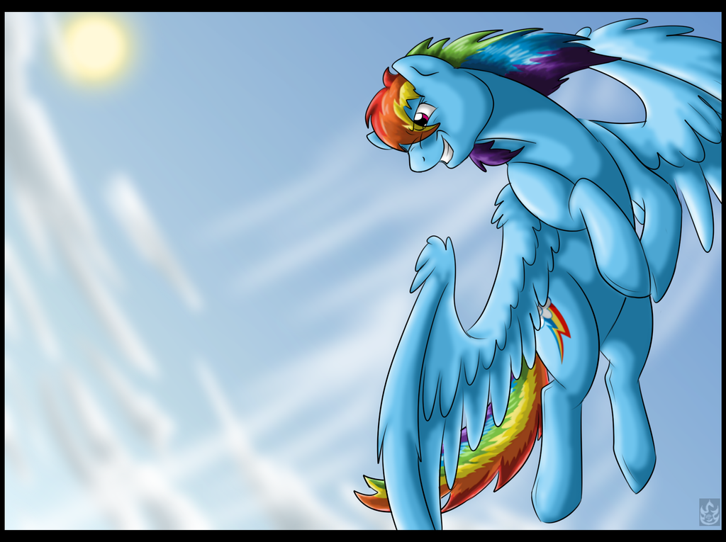 Freedom Ride by StormBlaze-Pegasus