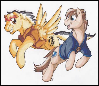 Friends by StormBlaze-Pegasus