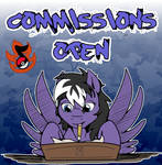 2020 Commissions Are Open by StormBlaze-Pegasus