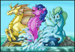 Call Upon the sea ponies by StormBlaze-Pegasus