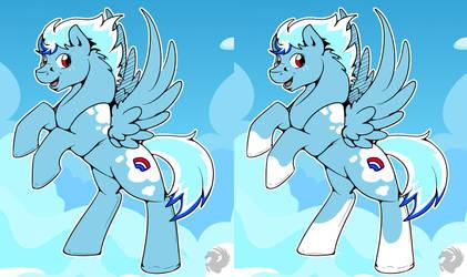 UKBP Mascot entry by StormBlaze-Pegasus