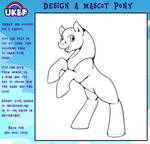 UKBP Mascot Colouring Page by StormBlaze-Pegasus