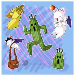 Final Fantasy Monsters set