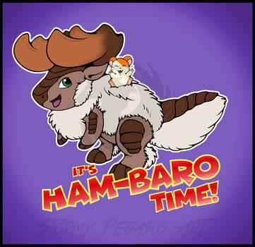 It's Ham-Baro Time