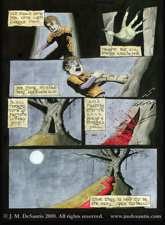 Devil Tree page 2 of 2 by jmdesantis
