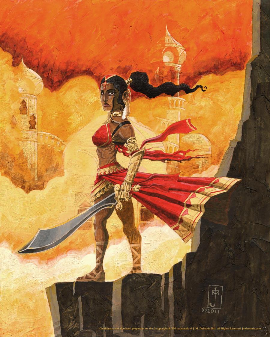 Goddess of Sand by jmdesantis
