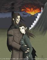 Aragorn and Arwen by jmdesantis