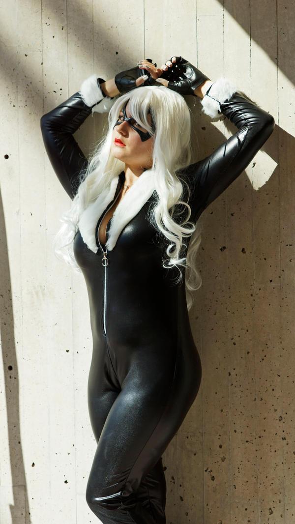 cosplay anime Black cat
