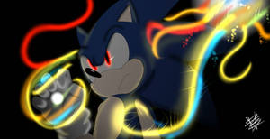 fan art sonic :super smash bros ultimate by cristeamlight