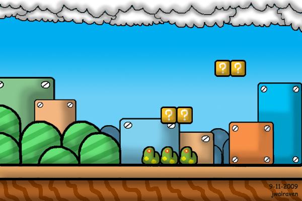 Mario Bros Background by JwalsShop on DeviantArt