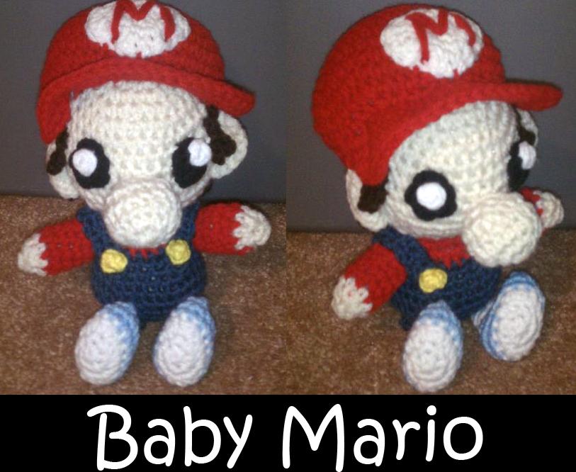 Baby Mario Amigurumi : Jwals Art Stop - Page 3 - Artwork - Zelda Universe Forums