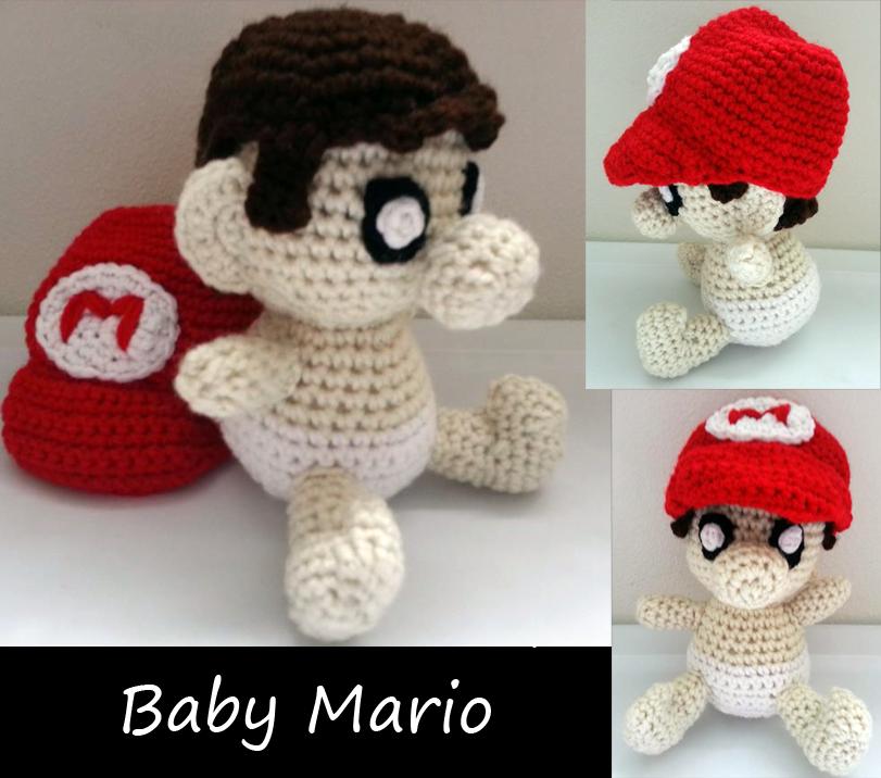 Baby Mario Amigurumi : Baby Mario Amigurumi by JwalsShop on DeviantArt