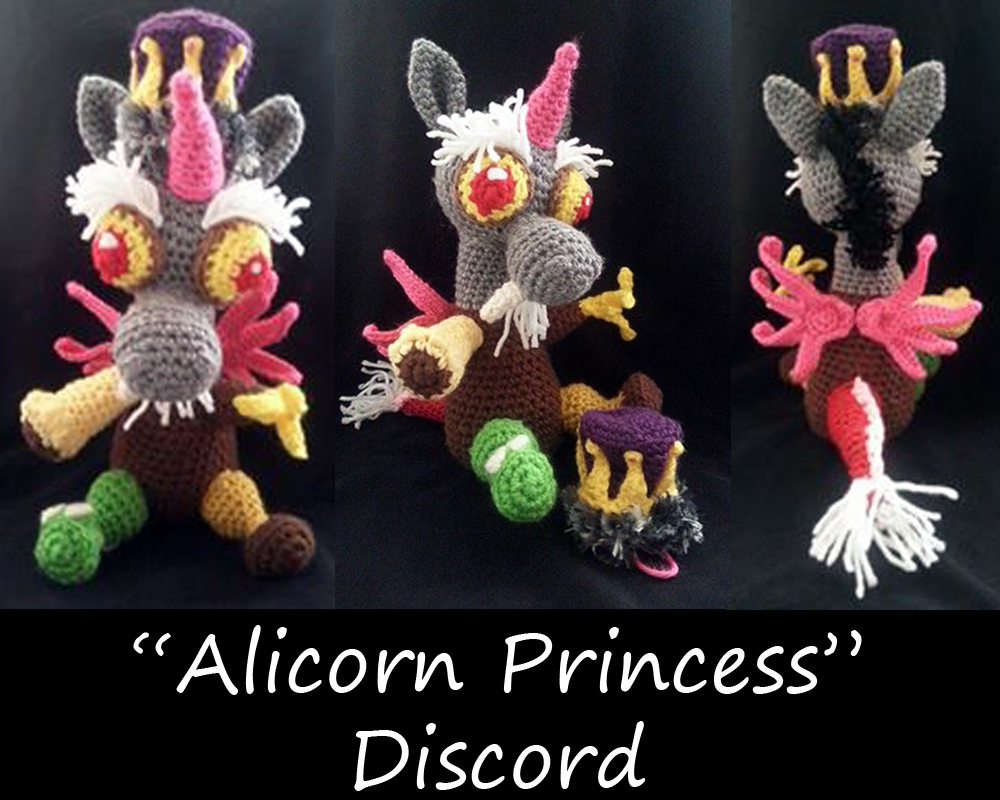 Alicorn Princess Discord by JwalsShop
