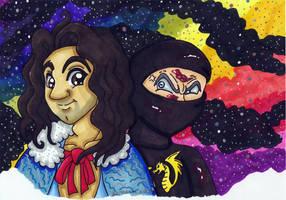 Ninjas in Space