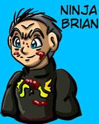 Ninja Brian Doodle