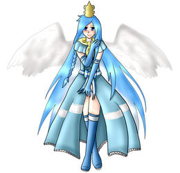 .:Full Body Commission:. Princess Argenta by Honisaro