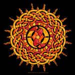 Celtic Knotwork Sun