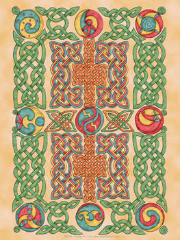 Celtic Knotwork Panel