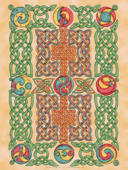 Celtic Knotwork Panel