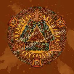 Celtic Pyramid Mandala