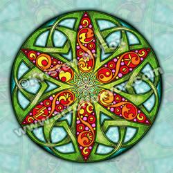 Celtic Summer Mandala