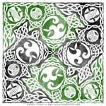 Celtic Knotwork Puzzle Square