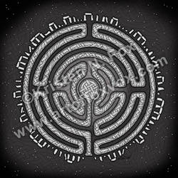 Celtic Labyrinth Mandala