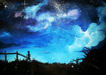 Star field by hyu-09